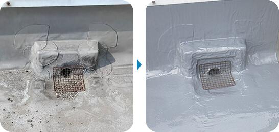 某ホテル 防水修繕工事