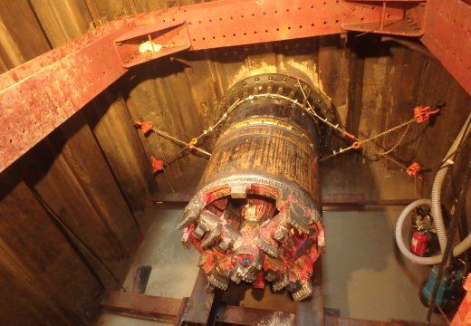 浄水場連絡管推進