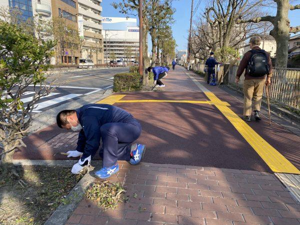 #笹川組 #CSR #美知メセナ #清掃活動3月2